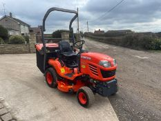 2015 KUBOTA G23-II RIDE ON MOWER, RUNS, DRIVES AND CUTS, IN MINT CONDITION, LOW 205 HOURS FROM NEW!