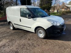2015/65 REG VAUXHALL COMBO 2000 L1H1 CDTI 1.25 DIESEL WHITE PANEL VAN, SHOWING 0 FORMER KEEPERS