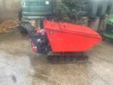 JCB PETROL TRACKED DUMPER, STARTS, RUNS, DRIVES AND TIPS, DELIVERY ANYWHERE UK £150 *PLUS VAT*