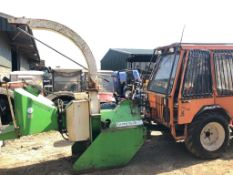 GREENMECH WOOD CHIPPER, 3 POINT LINKAGE, WORKS AND CUTS *PLUS VAT*