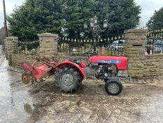 SHIBAURA COMPACT TRACTOR, RUNS AND DRIVES, COULD DO WITH A NEW BATTERY *NO VAT*