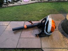 2017 STIHL BR700 BACK PACK BLOWER, BOUGHT NEW IN 2018, RUNS AND WORKS, CAN DELIVER AT COST *NO VAT*