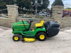 John Deere LTR166 Ride On Mower Runs Drives And Cuts *NO VAT*
