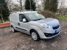 2015/65 REG VAUXHALL COMBO 2300 L2H1 CDTI S/S SPORT 1.25 DIESEL PANEL VAN, SHOWING 0 FORMER KEEPERS