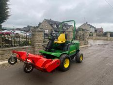 JOHN DEERE 1545 SERIES 2 4x4 WITH FLAIL ATTACHMENT ROAD REGISTERED *PLUS VAT*