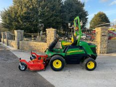 2016 John Deere 1580 Outfront Mower Runs Drives And Cuts Low 2138 Hours *PLUS VAT*