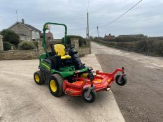 2016 John Deere 1580 Outfront Mower Runs Drives And Cuts Low 2375 Hours *PLUS VAT*