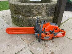 2020 HUSQVARNA 550XP CHAINSAW, RUNS AND WORKS, IN MINT CONDITION *NO VAT*