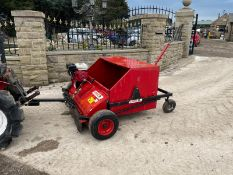 LOGIC MSC120 PADDOCK / YARD SWEEPER, RUNS AND WORKS, CAB CONTROLLED REVS *NO VAT*