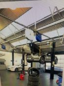 Stirtil Koni KS2038 3.8 Ton 3ph vehicle Lift