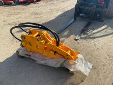 BRAND NEW AND UNUSED FINGER GRAB, HYDRAULIC DRIVEN, 35MM PINS *PLUS VAT*