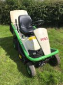 2014 ETESIA HYDRO 80 RIDE ON LAWN MOWER C/W REAR GRASS COLLECTOR, RUNS, DRIVES AND CUTS *PLUS VAT*