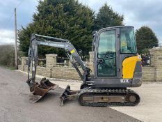 2013 VOLVO EC27C EXCAVATOR RUNS, DRIVES AND DIGS, IN USED BUT GOOD CONDITION, X3 BUCKETS INCLUDED