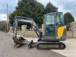 2013 VOLVO EC27C EXCAVATOR, SHIBAURA OUTFRONT MOWER, NEW HANER MUNCHER, NEW FINGER GRAB, SCAG MOWER, WOLVO BALER, ALL ENDING FROM 7PM TUESDAY!