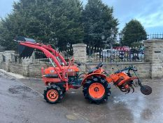 KUBOTA / ZEN NOH 7001 COMACT TRACTOR WITH FRONT LOADER, RUNS, DRIVES LIFTS AND WORKS *PLUS VAT*