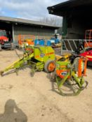 WOLVO MINI BALER WITH BALE WRAPPER, IN GOOD WORKING ORDER, IN GOOD CONDITION *PLUS VAT*