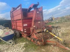 TEAGLE TOUCAN 80 FORAGER WAGON, PTO IS INCLUDED, PTO DRIVEN, IN WORKING ORDER *PLUS VAT*