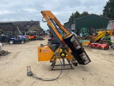 RECO FERRI TIG 120 HEDGE CUTTER, SUITABLE FOR 3 POINT LINKAGE, IN GOOD CONDITION *PLUS VAT*