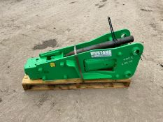BRAND NEW AND UNUSED 2021 MUSTANG BPH 125 ROCK BREAKER, CHISEL IS INCLUDED *PLUS VAT*