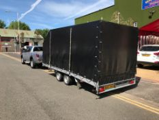 2019 Enclsosed car trailer been used for track day transporting our Lamborghini Gallardo to track