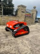 NEW UNUSED HIGH TOP REMOTE CONTROLLED LAWN MOWER, ELECTRIC OR PETROL OPERATED *NO VAT*