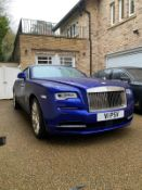 2017 ROLLS ROYCE DAWN V12 6.6L PETROL BLUE CONVERTIBLE, SHOWING 0 FORMER KEEPERS *NO VAT*