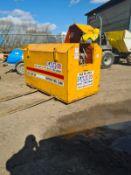 2500 litre bunded fuel bowser safe *PLUS VAT*