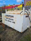 2500 litre fuel tank plus vat