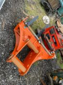 EURO-FAB PALLET FORKS, BRAND NEW AND UNUSED, SUITABLE FOR EXCAVATOR, 80MM PINS, PLUS VAT