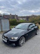 2008 BMW 3251 M SPORT CONVERTIBLE, 3.0 ENGINE, BLACK, MANUAL PETROL, CATEGORY N VDI CHECKED, NO VAT