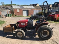 SHIRBAURA ST333 4WD COMPACT HST TRACTOR C/W ROLL BAR *PLUS VAT*
