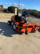 KUBOTA F2560 OUT FRONT RIDE ON MOWER, HYDRAULIC UP AND DOWN DECK, FOUR WHEEL DRIVE *NO VAT*