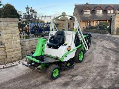 ETESIA HYDRO 124 D RIDE ON MOWER, RUNS, DRIVES AND CUTS, HIGH TIP COLLECTOR *PLUS VAT*