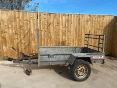 LOGIC QUAD TRAILER, DIRECT EX COUNCIL, ROAD LEGAL, TOWS VERY WELL LIGHTS & BRAKES WORKING *PLUS VAT*