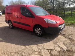 2014 PEUGEOT PARTNER 750 S L1, PORTALOO TOILET BLOCKS, FORD FIESTA, HYSTER 7 TON FORKLIFT, CARS VANS TRACTORS TRAILERS ENDS Thursday From 7pm