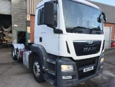 2016 MAN TGS 26.440 6X2 TRACTOR UNIT EURO 6, AUTOMATIC, DIESEL, AIR CONDITIONING *PLUS VAT*