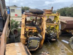 TWO CASE 1825 SKID LOADERS FOR SPARES OR REPAIR, BOTH HAVE KUBOTA ENGINES *PLUS VAT*