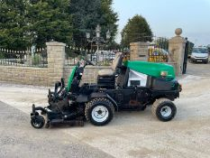 RANSOMES HR3806 RIDE ON MOWER, LOW 2915 HOURS, HYDROSTATIC *PLUS VAT*