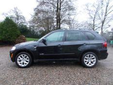 2012 (61) BMW X5 XDRIVE 35i, BLACK, PETROL, 98K MILES, AUTOMATIC, VDI CLEAR *NO VAT*
