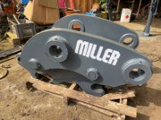 2013 MILLER HYDRAULIC QUICK HITCH TO SUIT 20-30 TON MACHINE, 90MM PINS *PLUS VAT*