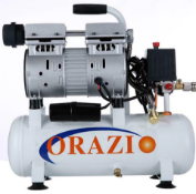new ORAZIO low noise Silent Air compressor 9L Europe Plug 600W for Garage Clinic *PUS VAT*