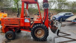 MANITOU MCE-30c 3 TON ROUGH TERRAIN, FORK TRUCK WITH FORKS AND BUCKET *PLUS VAT*