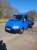 1997 FORD TRANSIT FLARESIDE, BLUE PICK-UP, DIESEL, SHOWING 10 PREVIOUS KEEPERS *NO VAT*