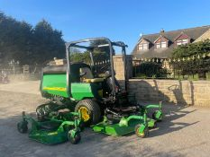 JOHN DEERE 1600 TURBO RIDE ON MOWER, LOW HOURS, 4 WHEEL DRIVE *NO VAT*