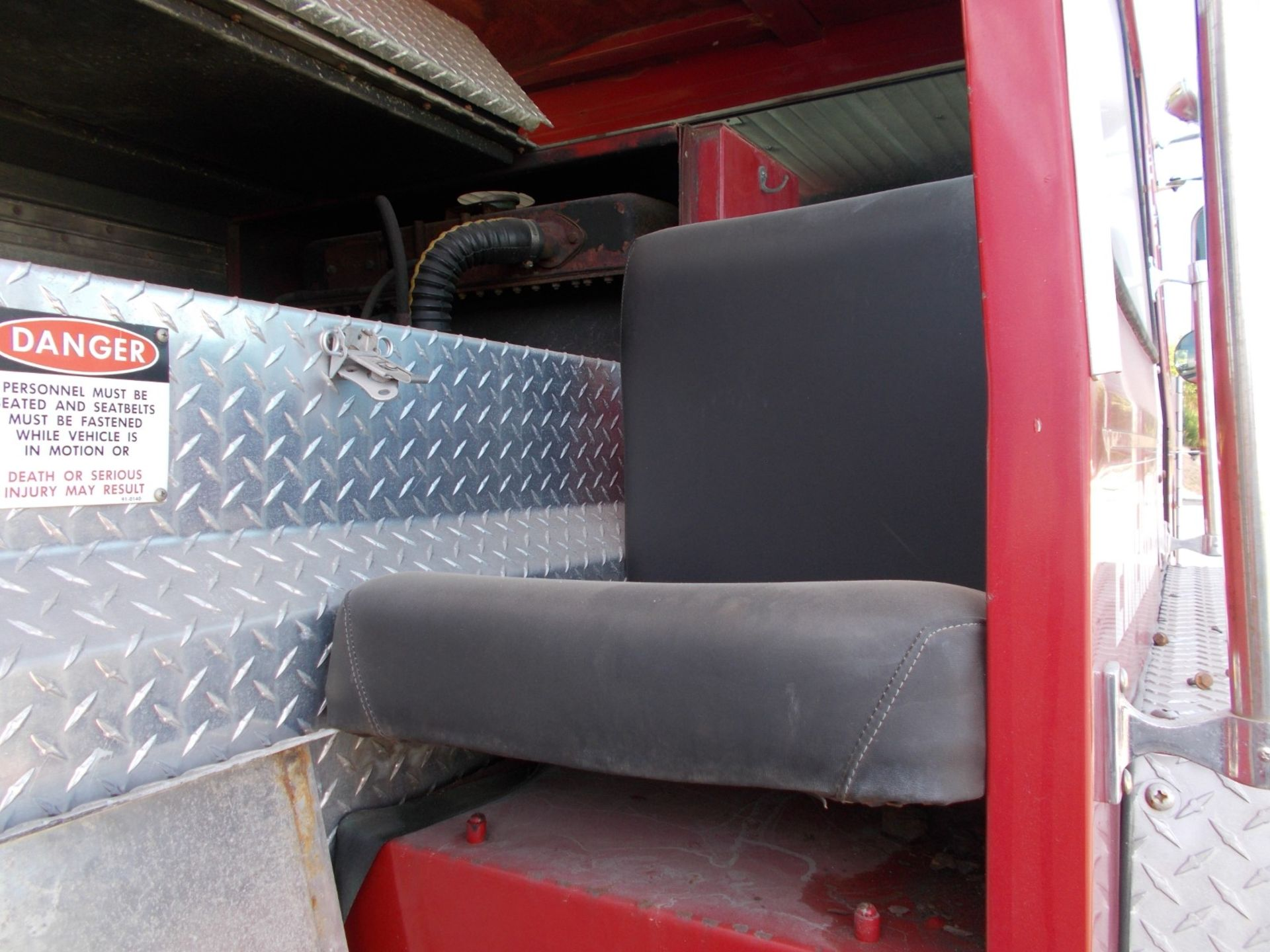 1978 HENDRICKSON 871-LPS SNORKEL FIRE TRUCK, U.S. IMPORT, 7.0 LITRE DETROIT DIESEL ENGINE *PLUS VAT* - Image 11 of 22