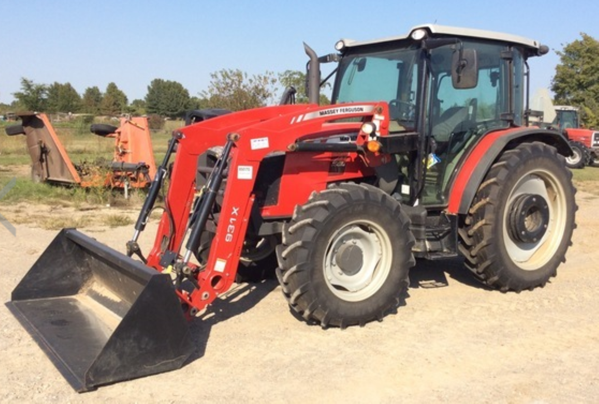 2018 MASSEY FERGUSON 4710 4WD TRACTOR WITH LOADER, AGCO 3.3 LITRE 3CYL TURBO DIESEL *PLUS VAT* - Image 9 of 21