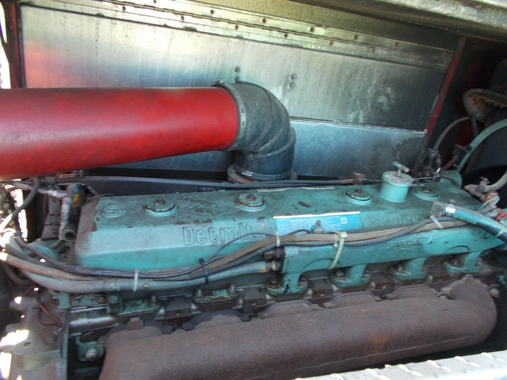 1978 HENDRICKSON 871-LPS SNORKEL FIRE TRUCK, U.S. IMPORT, 7.0 LITRE DETROIT DIESEL ENGINE *PLUS VAT* - Image 22 of 22
