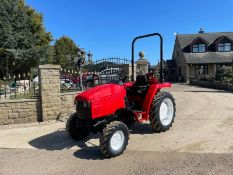 MITSUBISHI M3050 TRACTOR, ROLL BAR, 30HP, HYDROSTATIC, SHOWING 3290 HOURS, RUNS AND DRIVES *NO VAT*