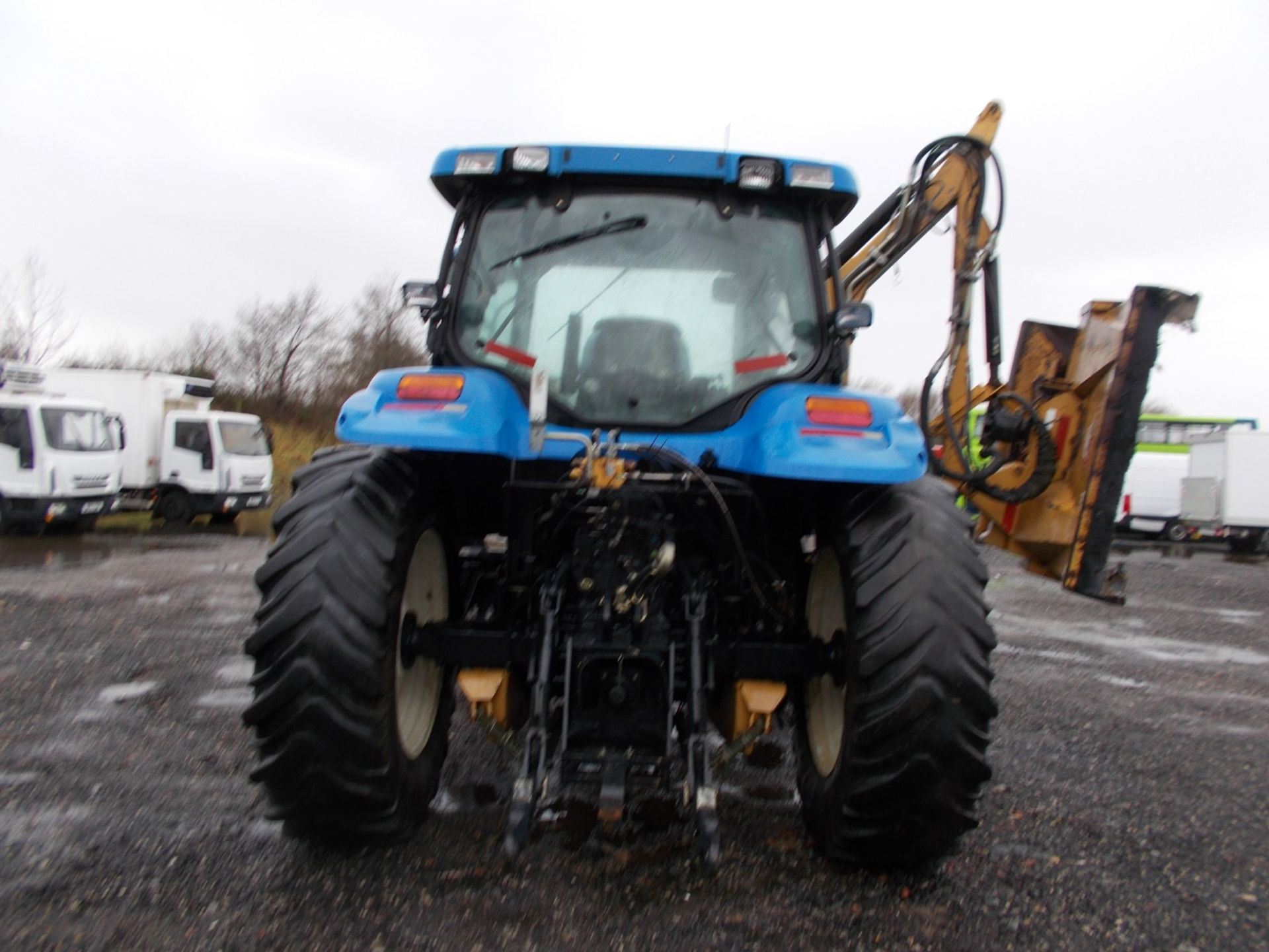 2003 NEW HOLLAND TS100A TRACTOR WITH MOWER ATTACHMENT, 4.5 LITRE 100HP TURBO DIESEL *PLUS VAT* - Image 4 of 24