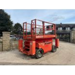 2013 MANITOU MANI-ACCESS 120SC SCISSOR LIFT, RUNS, DRIVES AND LIFTS *PLUS VAT*